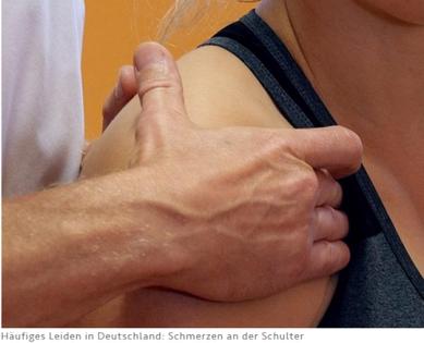 Schulterschmerzen durch Osteopathie behandeln lassen