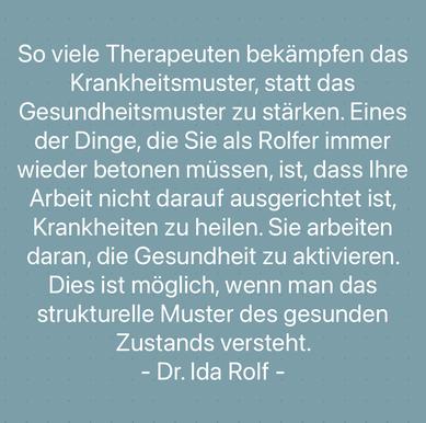 Rolfing Faszientherapie München Susanne Noll