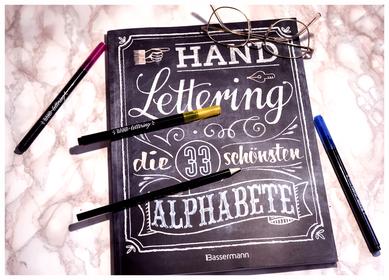Handlettering, Design, Schriftart, Handschrift, Schönschrift, Bassermann