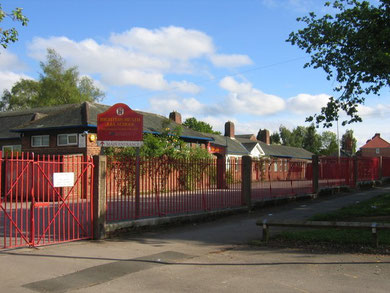 Highters Heath School. © Copyright David Stowell and licensed for reuse under Creative Commons Licence: Attribution-Share Alike 2.0 Generic. Geograph OS reference SP0879 - See Acknowledgements.