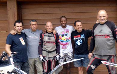 Eric Abidal i amics Noassar