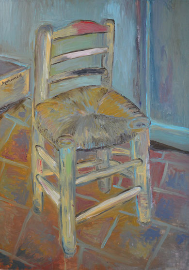 Korsi – Chair, after Van Gogh 1888 (1m by 80cm).