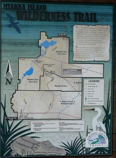 Myakka Island Trail (Download file for more resolution)