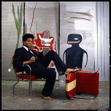Artist  Brooklyn Museum Basquiat 1985 Jean-Michel Basquiat             Photo by LIZZIE HIMMEL©