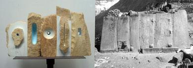 Muro sacro + Monumento di Ollantaytammbo (Peru)