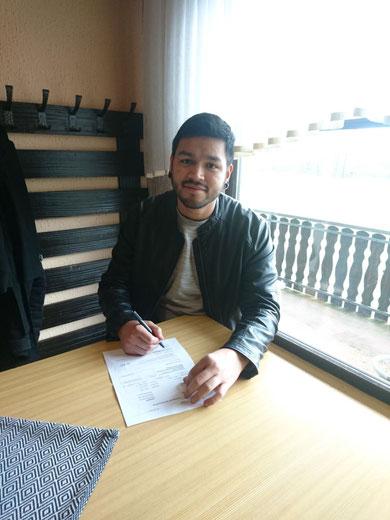 VfB Neuzugang Alejandro Risch