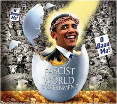 l'homme qui tombe à pic, Barack Obama