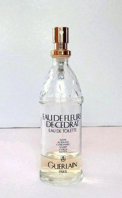 EAU DE FLEURS DE CEDRAT : TESTEUR DE PARFUMERIE EAU DE TOILETTE 100 ML - 1970
