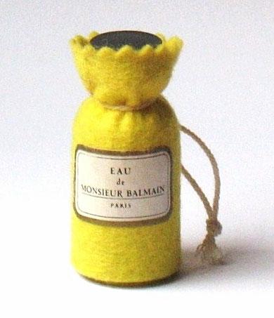 FEUTRINE : EAU DE MONSIEUR BALMAIN - FEUTRINE JAUNE