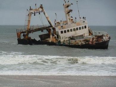 Schiffswrack Skeleton Coast