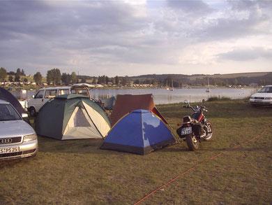 2004 Camping Bleilochtalsperre bei Saalburg