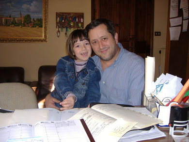 Dioguardi Filippo con la piccola Alexandra