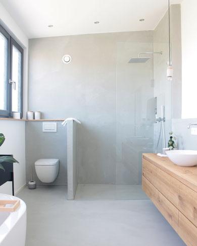 Fugenloses Badezimmer Koenigskram Webseite