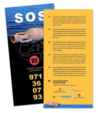 Flyer campaña SOS