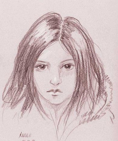 Mädchen von Afghanistan