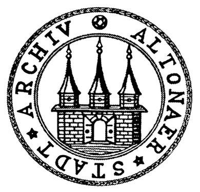 Das Logo des Altonaer Stadtarchivs konnte ich gestalten