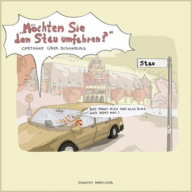 Cartoonbuch Buch Cartoon Comic Oldenburg Norddeutschland Küste