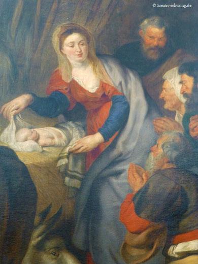 Aufgießung des hl. Geistes, Rubens, Foto: privat