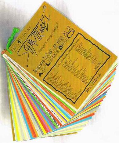 Produzentenzeitschrift der A.L.O.: SCHMUTZENGEL Nr.1 (1994) hrsg. von De Toys