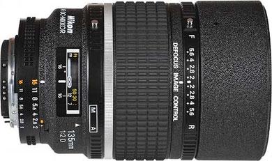 Nikon 135mm f/2 DC AF.