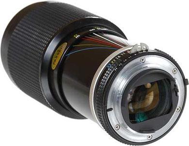 Nikon 80-200 mm f/4.5n