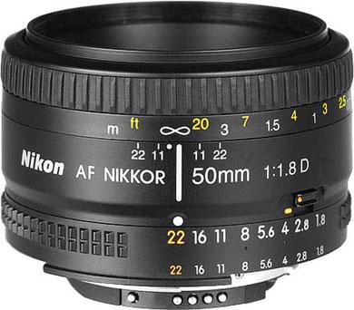 50mm f/1.8D