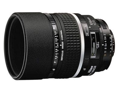 Nikkor 105mm f/2D DC AF là một trong hai ống kính có chức năng Defocus Control của Nikon.