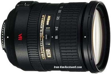 Nikon 18-200mm f/3.5-5.6 G ED
