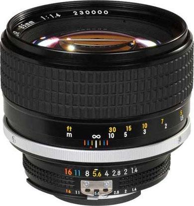 Nikon 85mm f/1.4 AI-s.