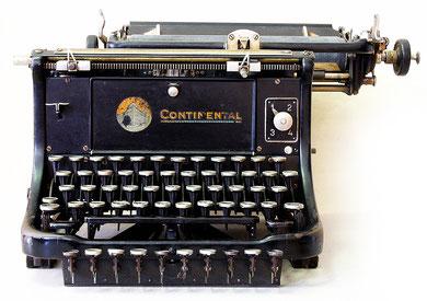 Continental  Schreibmaschine 1925