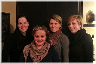 Charlotte Ringer, Viktoria Böhm, Eva-Maria Mayr, Sabine Rothböck