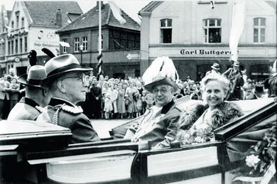 Erstes Königspaar 1954 - 1956