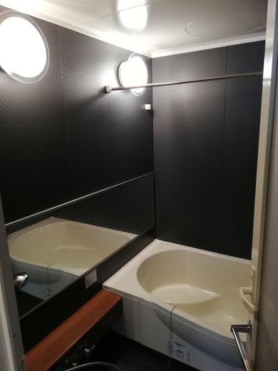 高崎市K様邸の浴室クリーニングのハウスクリーニング施工後写真です。