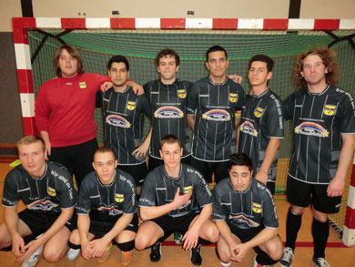 Futsal Hamburg II in den neuen Trikots