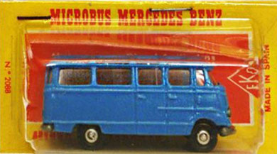 2088 Mercedes microbús