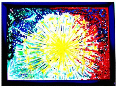 26 blow up mit Rahmen jedes Ölbild Grösse 58x78