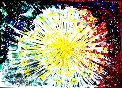 25 blow up jedes Ölbild mit Rahmen Grösse 58x78