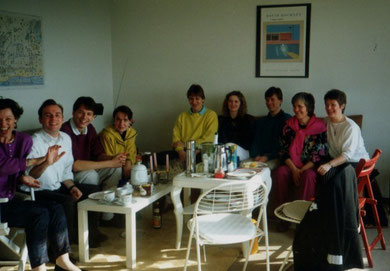 Club-members at Mark's, 1991