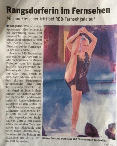Wochenspiegel 9.2.2018