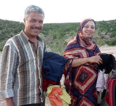 Tagelöhner, Hirte und seine Frau
