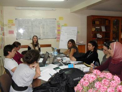 Internationales Seminar in Marokko.