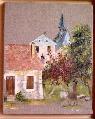 Peinture à l'huile de Marie-José DIEBOLT