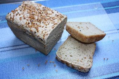 Dieses Brot nehme ich immer für Fondue oder Sandwiches