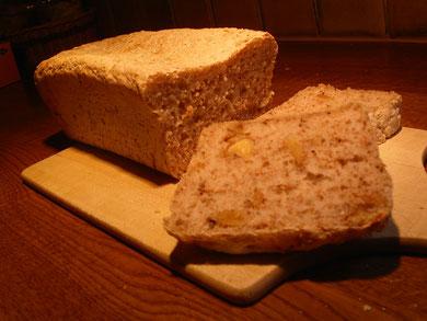 Fast alle Brotsorten backe ich selber...