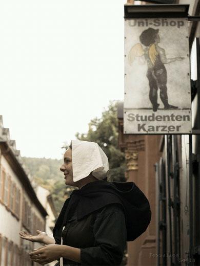 historische Person , Stadtrallye Heidelberg