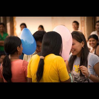 Juegos populares en la Chiquitanía (Bolivia)