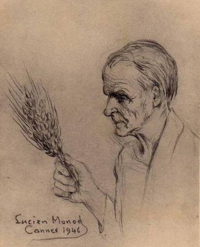 Autoportrait de Lucien Monod