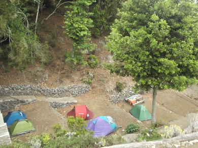 Zona de acampada/ Campsite La Vista