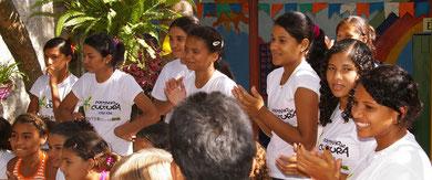 Mädchen, die im Projekt gefördert wurden, sind bereits Erzieherinnen