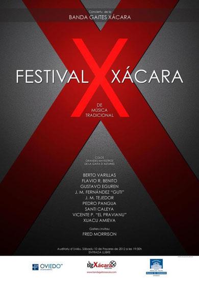 Cartelu del X Festival Xácara